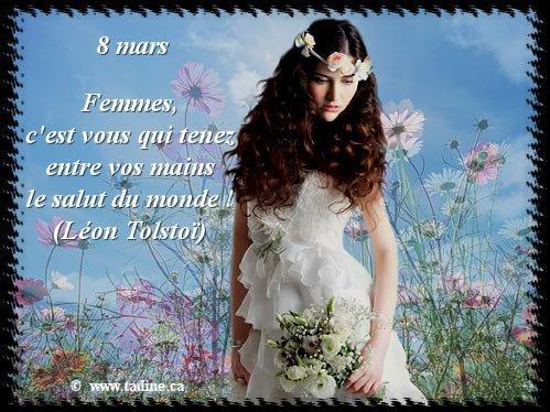 8 mars journée internationale de la femme ...