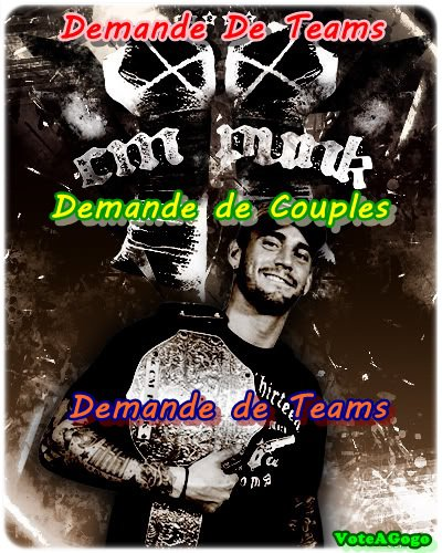Demande De Team, Couple, Gangs
