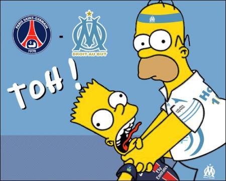 Le Simpson aussi pour l'OM