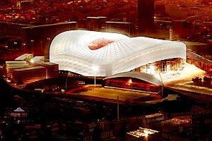 Le nouveau stade Vélodrome.