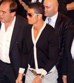 Cristiano Ronaldo s'énerve contre un photographe