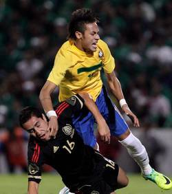 Ronaldo protège Neymar