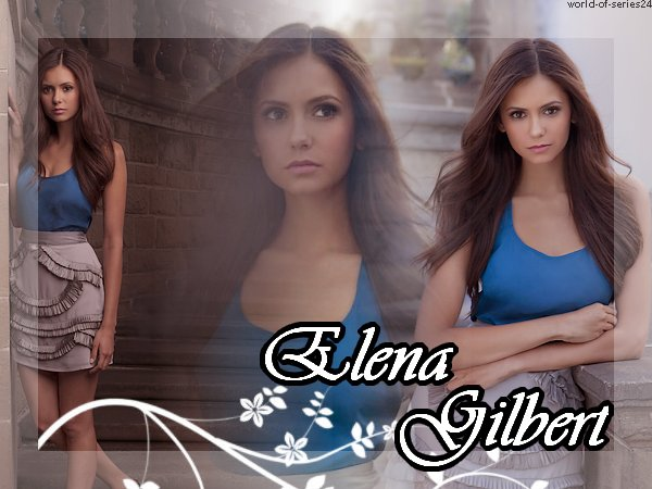 Le personnage d'Elena Gilbert (The vampire diaries)