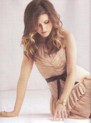 Nouveaux clip pour Kate ( Mia ) , Une photo de Sophia &' One Tree Hill sur Tf1 .