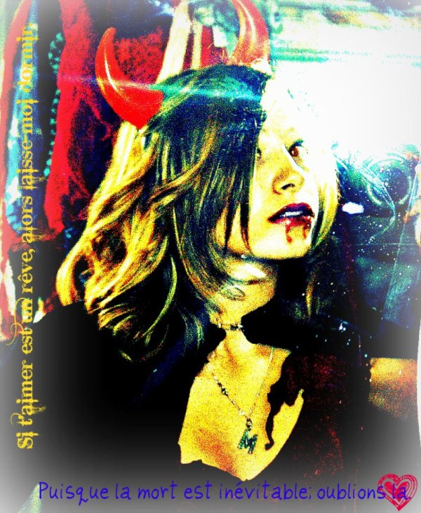 Moi, ou The Vampire. <3