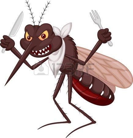 le saviez vous?  les moustiques préfèrent les femmes!!