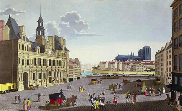 La place de Grève à Paris