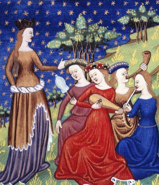 les règles de l'amour courtois au Moyen Age