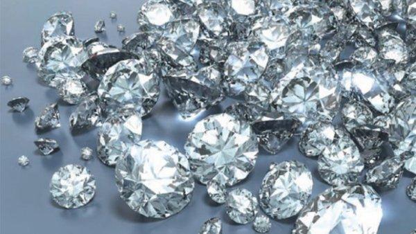 D'où viennent les diamants?