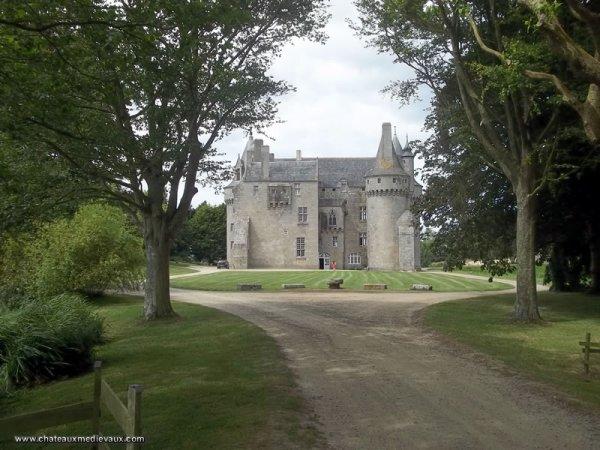 le château de Kérouzéré