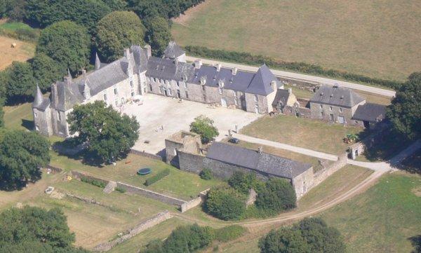 le château de Callac à Plumelec   (56)