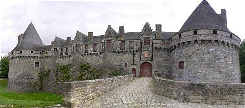 le château de Pontivy(56)
