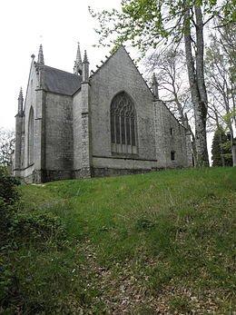 la chapelle de la Houssaye  Pontivy