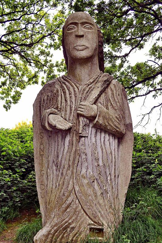 la vallée des saints à Carnoët(22)