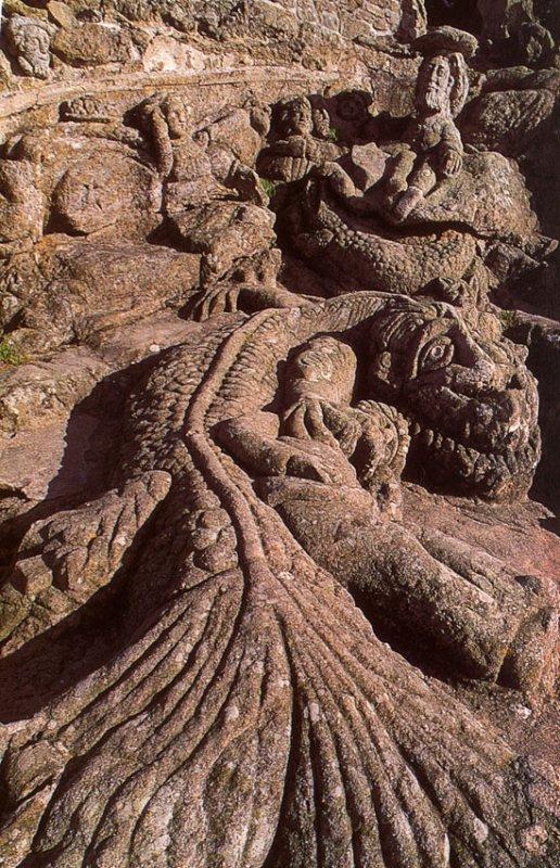 les rochers sculptés de Rotheneuf(35)