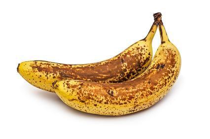 les bananes bien mûres,c'est bon?