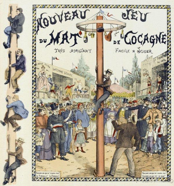 l histoire du mât de cocagne