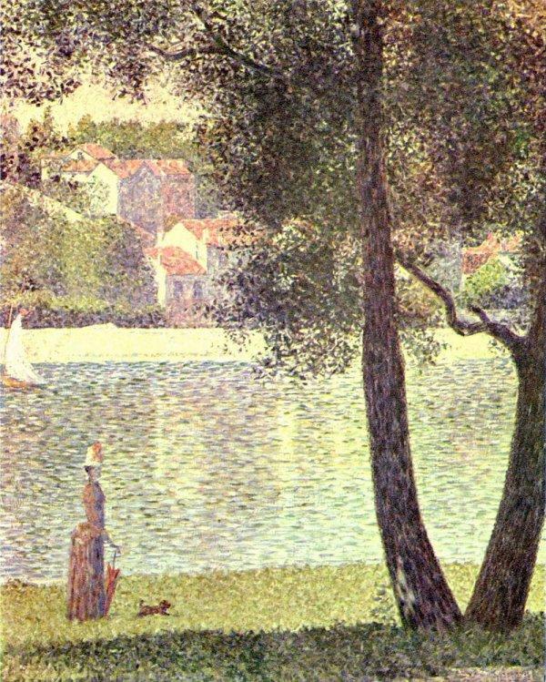 le peintre Georges Seurat