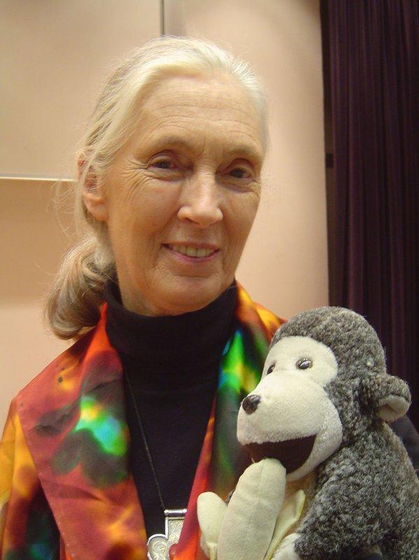 qui est Jane Goodall?