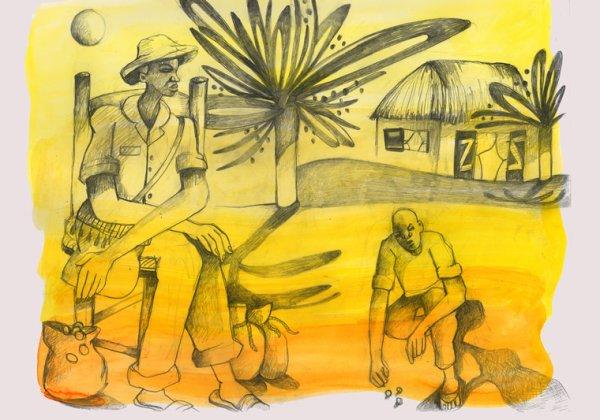 l homme au grand savoir et l'enfant  conte haïtien
