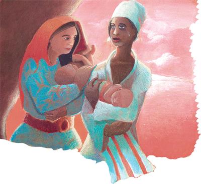 Ammamellen et Elias;un gentil conte