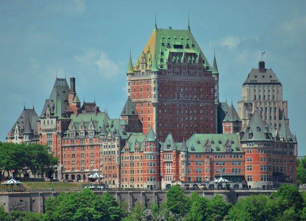 le chateau de Frontenac à Québec