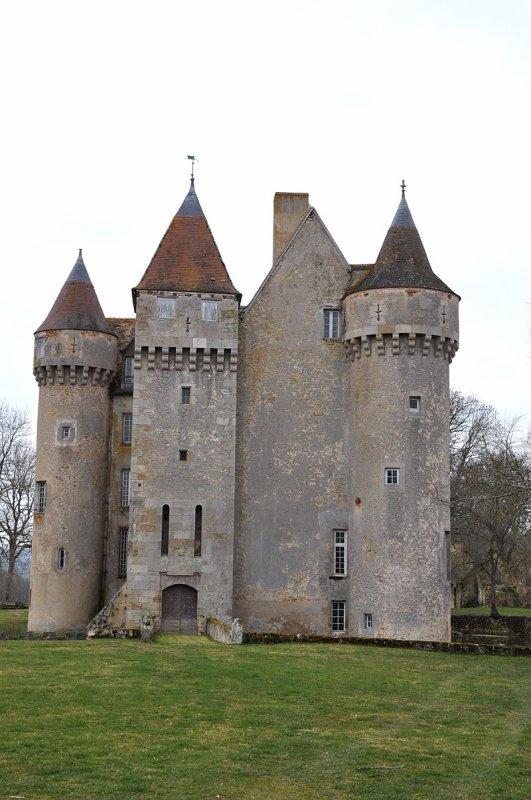 le chateau de Chazelet