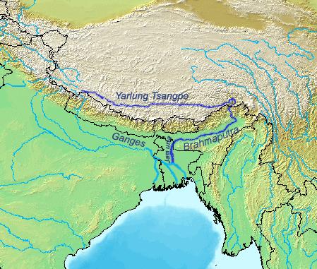 petite promenade en Asie.....sur le Brahmapoutre
