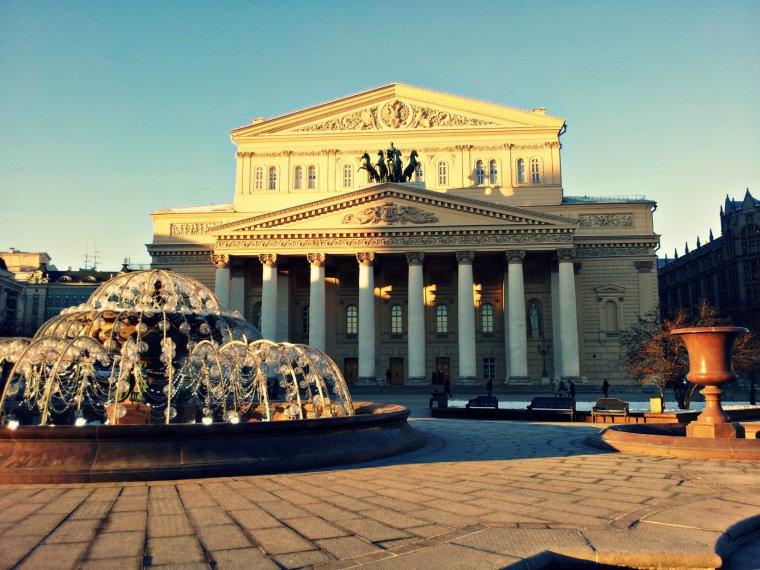 l'histoire du theâtre Bolchoï à Moscou