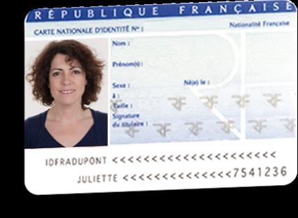 l histoire de la carte d'idntité  française