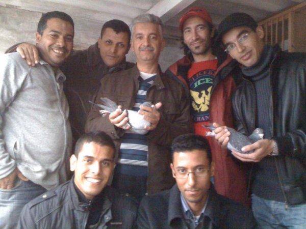 Avec Safih et les amis Rahal et son ami, Zeimi, Tlimes, oussama
