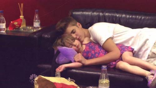 Justin & Jazmyn (sa soeur)