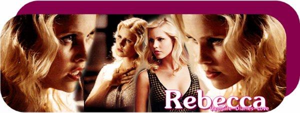 Rebecca, un nouveau personnage