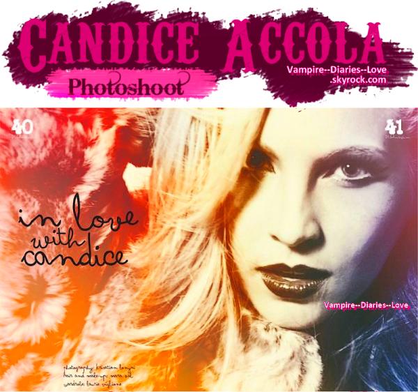 Nouveau Photoshoot de Candice Accola
