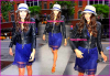Flashback : Candids du 06 mai 2010 : Nina sort de Pix Morning Show