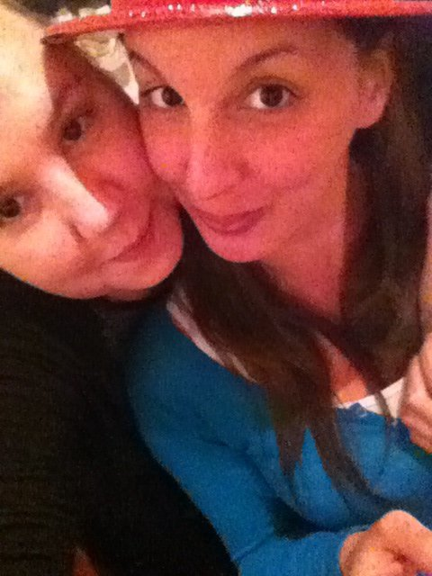 Ma cousine and me ...