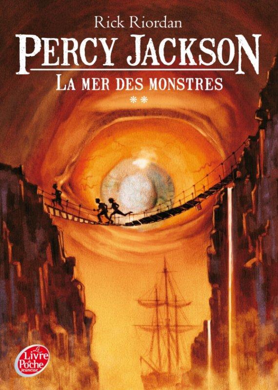 Percy Jackson La mer des Monstres de Rick Riordan
