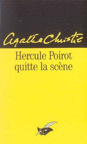Hercule Poirot quitte la scène de Agatha Christie