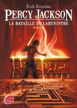 Percy Jackson - La bataille de Labyrinthe de Rick Riordan