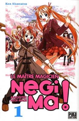 Le maître magicien Negima! Tome 1 de Ken Akamatsu