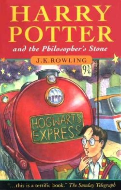 Harry potter and the philosopher's stones