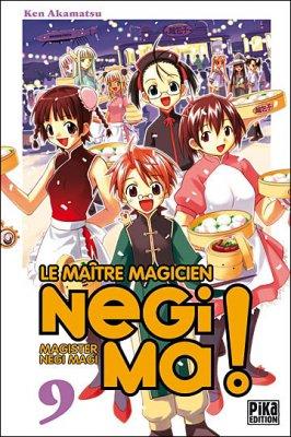 Le maître magicien Negima tome 9 de Ken Akamatsu