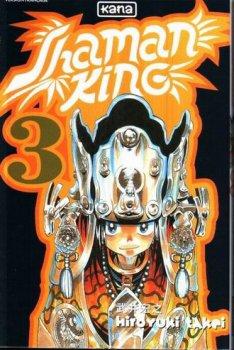 Shaman King Tome 3 de Hiroyuki Takei