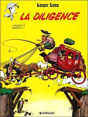 Lucky Luke - La diligence de Morris et René Goscinny