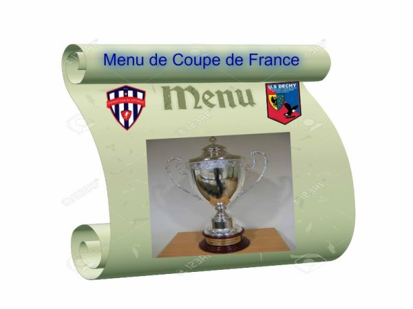 La Coupe de France au Menu