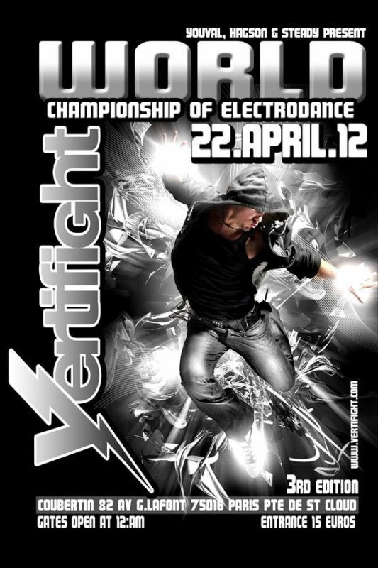 PLAYLIST VERTIFIGHT CHAMPIONNAT DU MONDE 22 avril 2012
