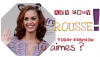 Katy Perry ; Rousse !