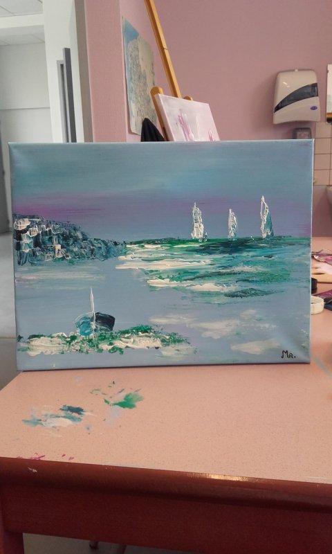 Peinture avril 2018