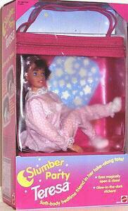 Recherche le pyjama rose de teresa