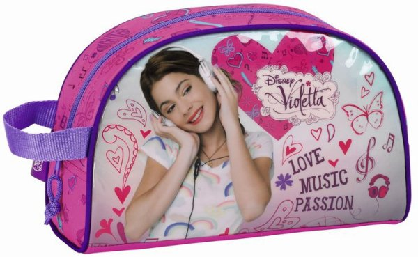 Trousse de Toilette Violetta Love Music Passion